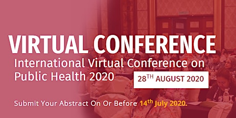 International Virtual Conference on Public Health (IVCPH 2020) tickets