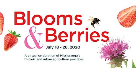 Blooms and Berries: Design Your Own Pollinator Garden Webinar tickets