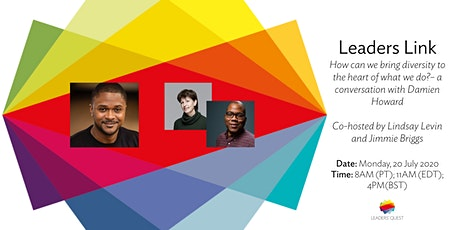 Leaders Link: How can we bring diversity to the heart of what we do? tickets