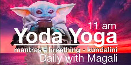 'Yoda Yoga' with Magali (by $ donation) tickets