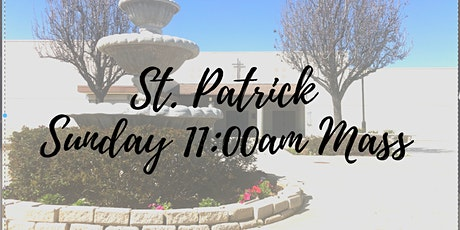 St. Patrick Sunday 11:00am Mass tickets