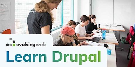 Drupal Site Building & Architecture - Live Online Training tickets