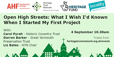 Open High Streets: What I Wish I'd Known When I Started My First Project tickets
