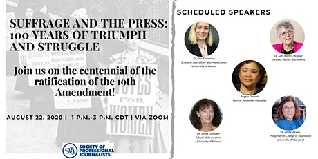 Suffrage and the Press: 100 Years of Triumph and Struggle tickets