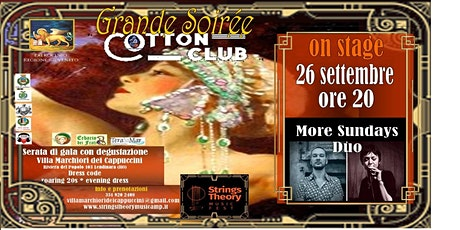 STRINGS THEORY MUSIC FEST - COTTON CLUB - More Sundays Duo biglietti