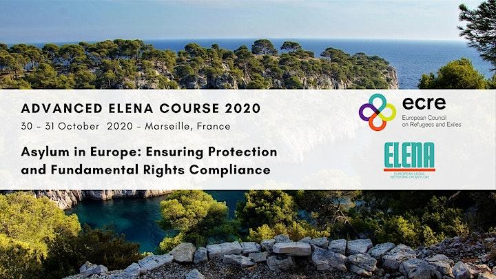 Advanced ELENA Course 2020 Online image