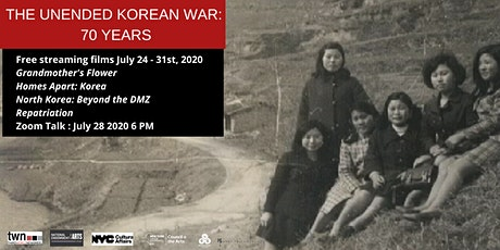 The Unended Korean War:  70 Years tickets