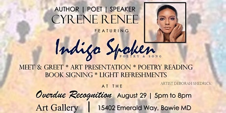 Indigo Spoken by Author Cyrene Renee tickets