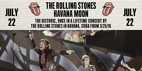 The Rolling Stones - Havana Moon at the Drive-In tickets