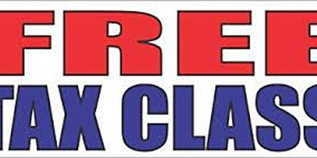 "Free ""ARE YOU A+ FUTURE TAX PRO ?"" Tax Class tickets"