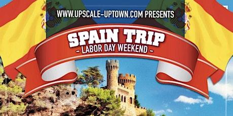 SPAIN TOUR - LABOR DAY WEEKEND entradas
