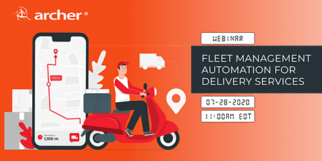 Fleet management automation for delivery companies - Lessons of COVID-19 tickets