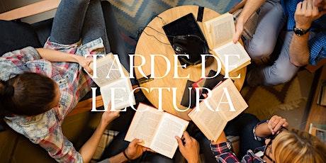 Tarde de Lectura | 23.Jul.20 | 7.00PM entradas