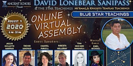 BLUE STAR TEACHINGS -Mi'kmaq Elder David Lonebear (In-person or Livestream) tickets