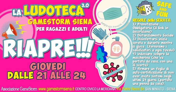 Immagine Serata di Gioco da Tavolo a Siena