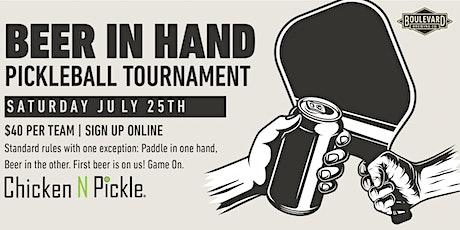 Beer in Hand Tournament tickets