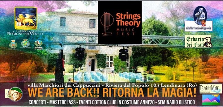 Immagine STRINGS THEORY MUSIC FEST - Il Canto delle Stelle Mediterranee