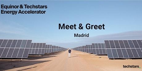 Equinor & Techstars Energy Accelerator Meet and Greet : Madrid tickets