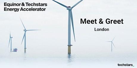 Equinor & Techstars Energy Accelerator Meet and Greet : London tickets