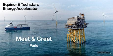 Equinor & Techstars Energy Accelerator Meet and Greet : Paris tickets