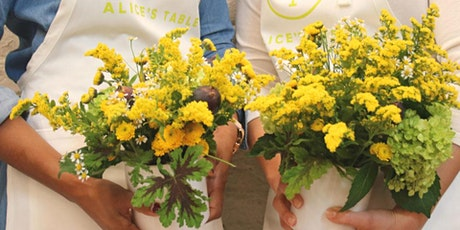 Summertime Blooms and Hidden Brook Winery with Alice's Table tickets