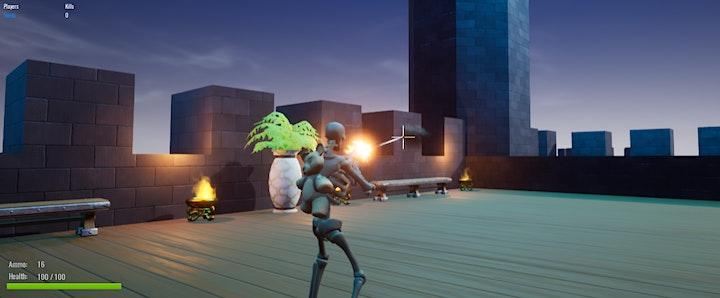 Image pour Atelier Création Jeu Vidéo : Battle Royale