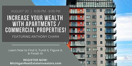 August Monthly Meeting: Why Apartments & Multi-Units in Today's Market tickets