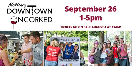 McHenry Downtown Uncorked tickets