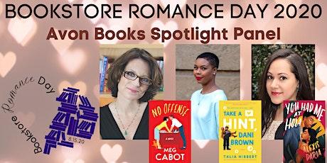 Bookstore Romance Day Panel: Meg Cabot, Alexis Daria & Talia Hibbert tickets
