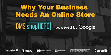 Why Your Business Needs An Online Store- ShopHERE powered by Google tickets