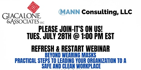 Refresh & Restart- Practical Steps to Lead a Safe & Clean Workplace tickets