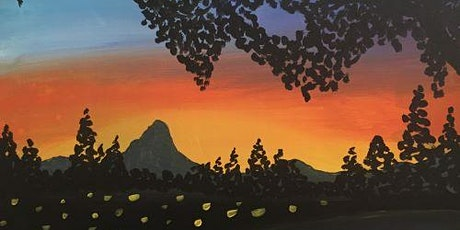 "Paint and Sip Event ""Sunrise from Catalina"" tickets"