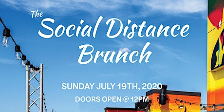 """THE SOCIAL DISTANCE"" BRUNCH PARTY @ SAVANNA ROOFTOP - ON THE WATER! tickets"