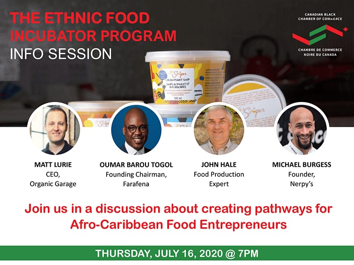 Ethnic Food Incubator Info Session #3 image