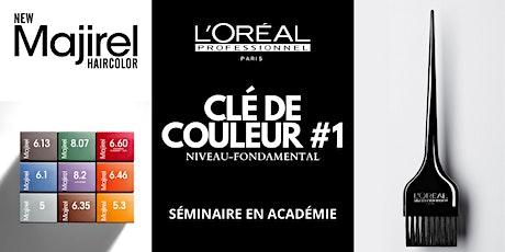 CLÉ DE COULEUR #1 /MONTREAL/QC billets