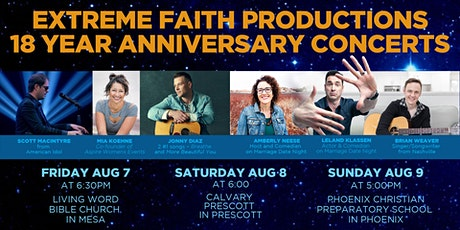 18 year Anniversary Concert & Comedy tickets