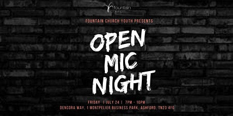 FC Youth | Open Mic Night tickets