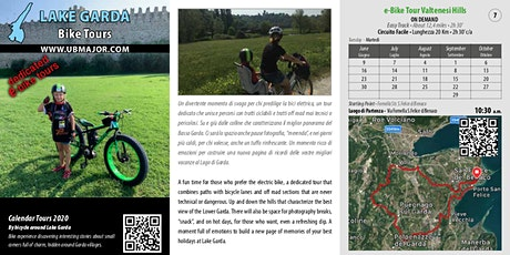 Alla scoperta in BiCiCletta e-Bike Tour Valtenesi Hills O.D. tickets