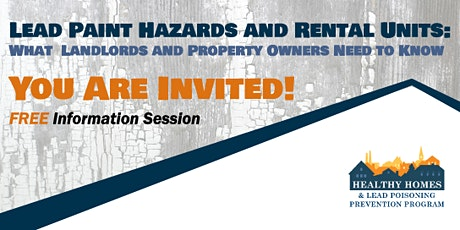 Information Session Property Owners and Landlords tickets