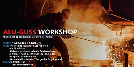 Alu-Guss Workshop bei Maker Austria Tickets