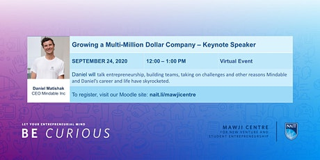 Daniel Matishak, CEO Mindable Inc, Keynote Speaker tickets