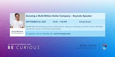 Daniel Matishak, CEO Mindable Inc, Keynote Speaker tickets