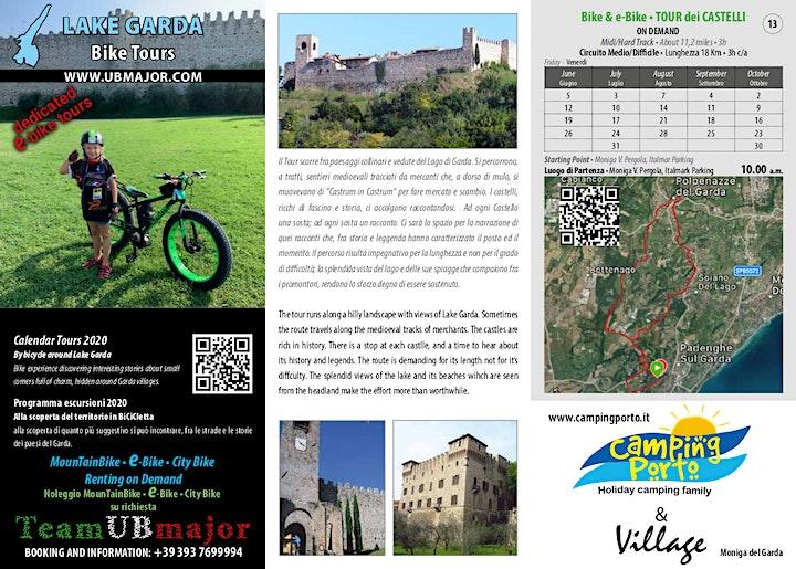 Immagine Alla scoperta in BiCiCletta Bike & e-Bike • TOUR dei Castelli OD