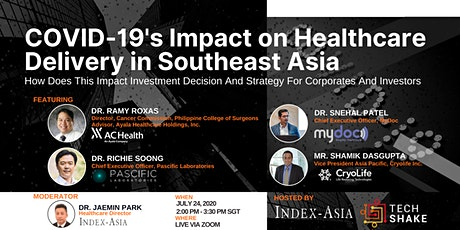COVID-19's Impact on Healthcare Delivery in Southeast Asia tickets