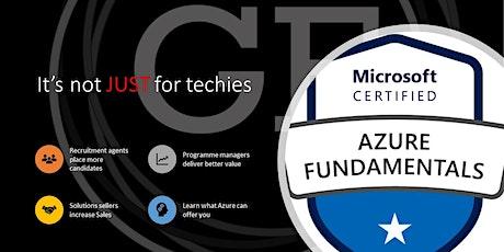 Microsoft Azure Fundamentals 2nd November 2020 tickets