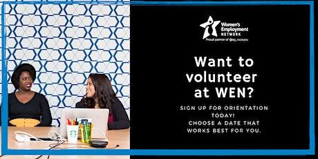 Volunteer with Women's Employment Network tickets