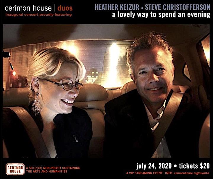 Keizur & Christofferson: Cerimon House Presents | Duos Concert Series image