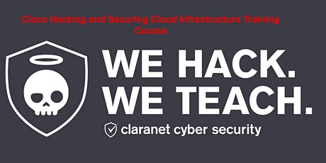 Hacking and Securing Cloud Infrastructure Remote Course tickets