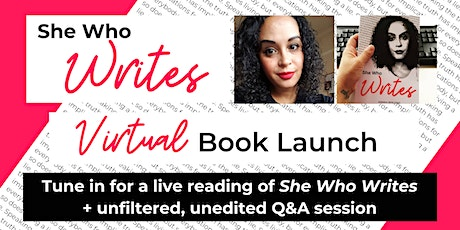 She Who Writes: Virtual Book Launch tickets
