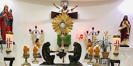16/07 - Quinta Feira de Adoração/Confissão/Missa ingressos